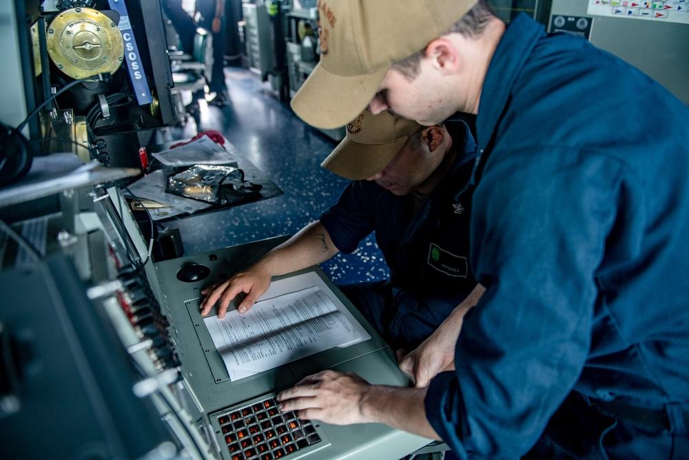 USS O'Kane (DDG 77) Maintains a Vigilant Watch
