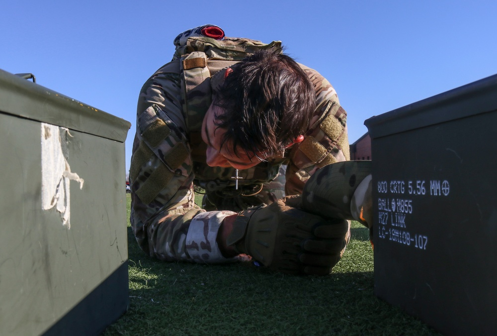 7th SFS members gear up for Global Strike Challenge