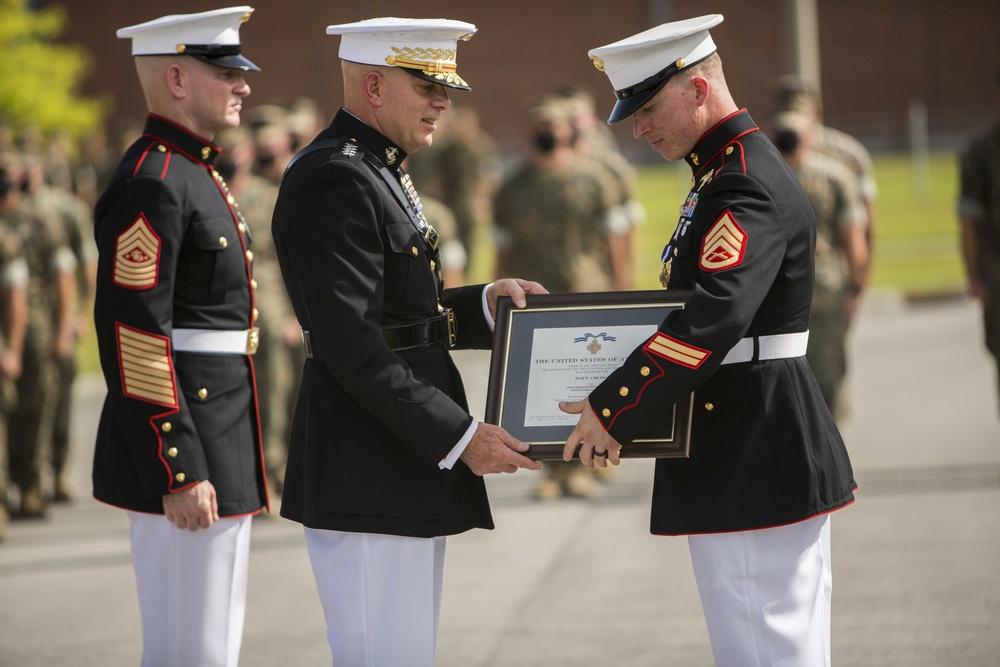 Marine Raider Awarded Nation's Second Highest Decoration for Valor