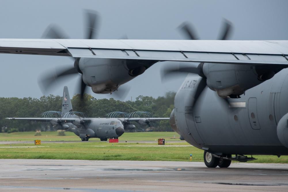 403rd Wing evacuates aircraft; continues to fly Ida