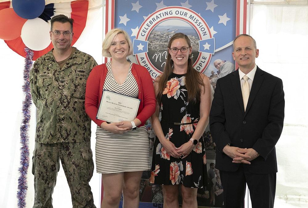 Undersea warfare analyst wins Society of Women Engineers 2021 Helen Martha Sternberg Award