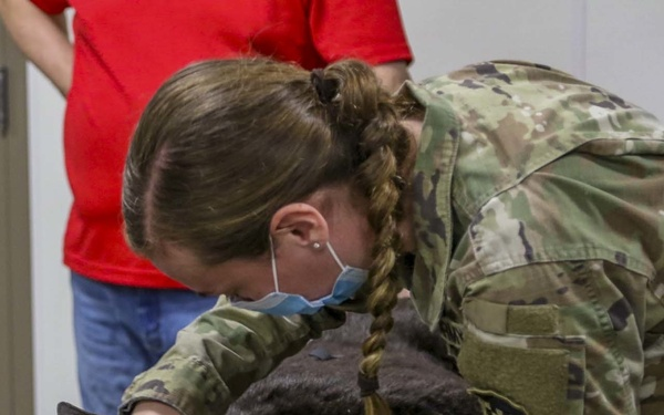 Public affairs Soldiers 'get scoop' during training in CSTX at Fort McCoy