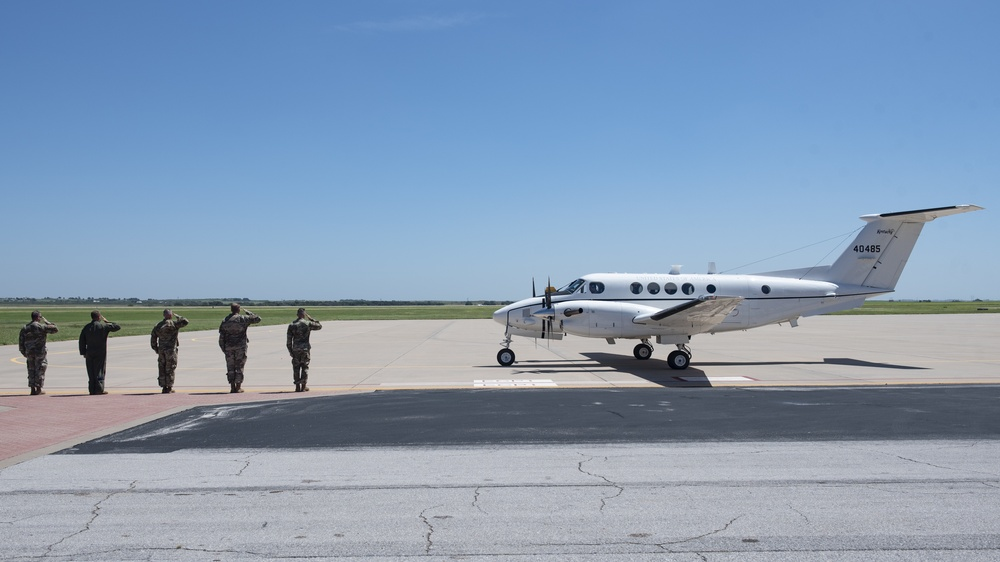 2nd Air Force Commander Visits Sheppard