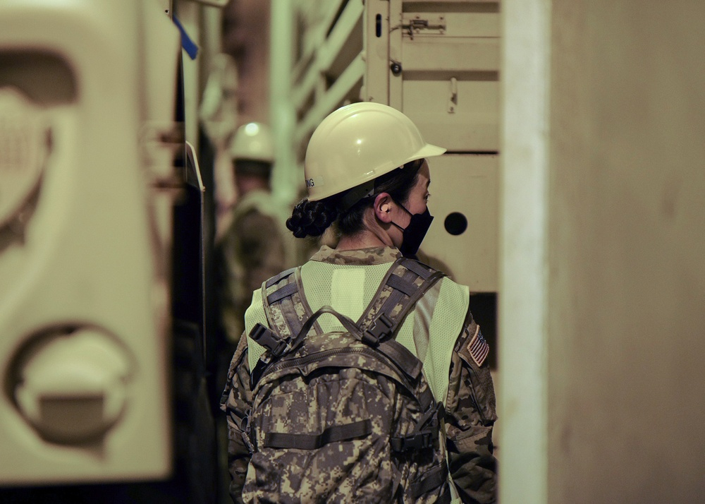 U.S. Army Reserves support sea deployment readiness exercise