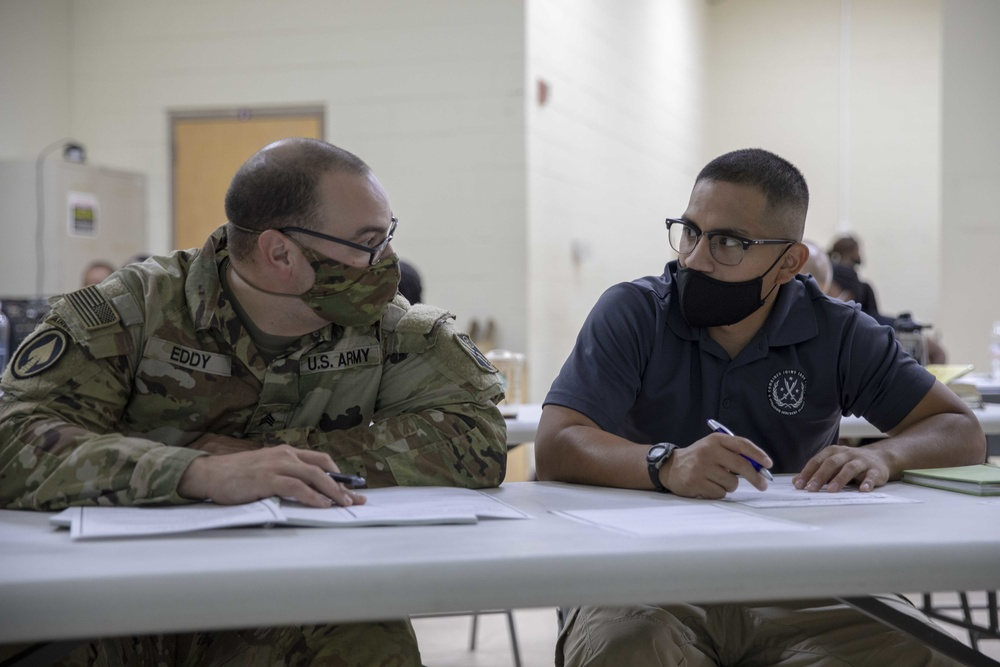 Area Support Group - Kuwait chaplains holds financial peace class