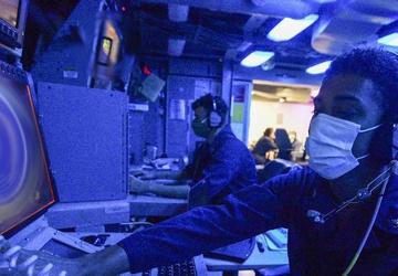USS John P. Murtha (LPD 26) Combat Information Center