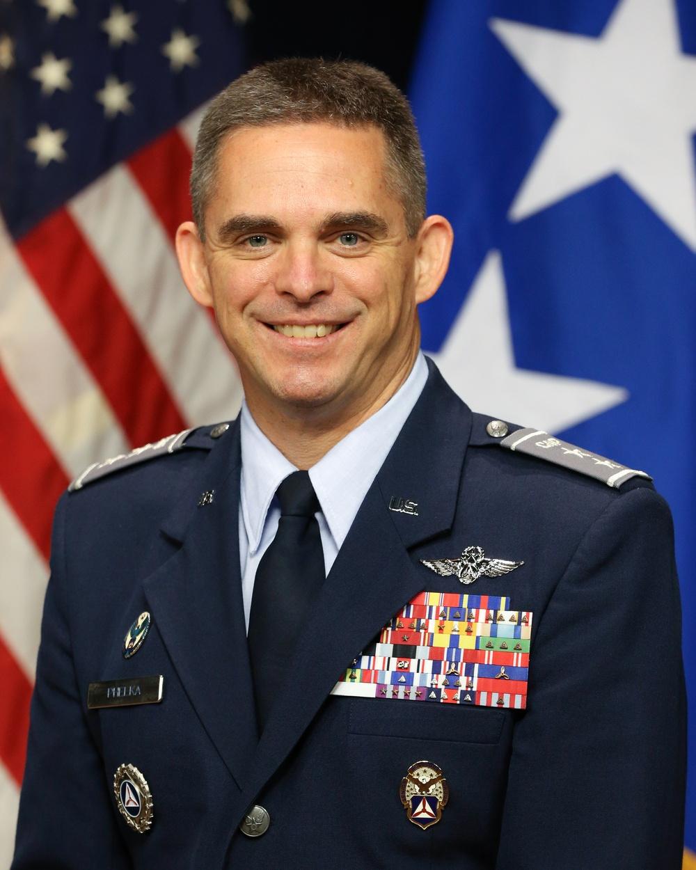 Maj. Gen. Edward Phelka Official Portrait