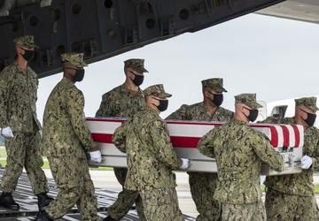 Navy Hospitalman Soviak honored in dignified transfer Aug. 29