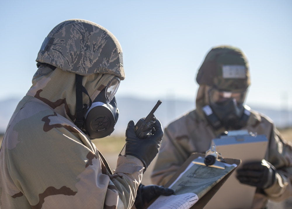 124th CES Maintains Ops in MOPP 4