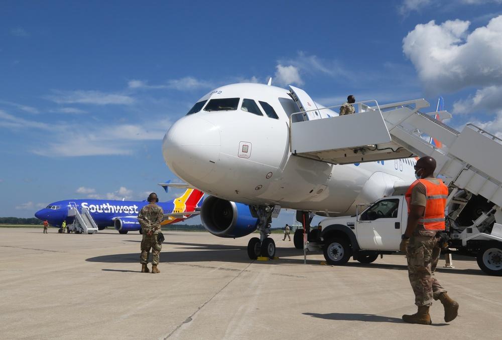 Afghans arrive at Volk Field