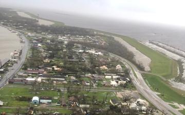 Coast Guard conducts Hurricane Ida post-storm overflights along the Gulf Coast [Image 4 of 4]