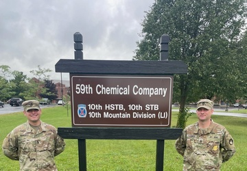 U.S. Army Chemical Corps officer coordinates Norwegian Foot March on Fort Drum