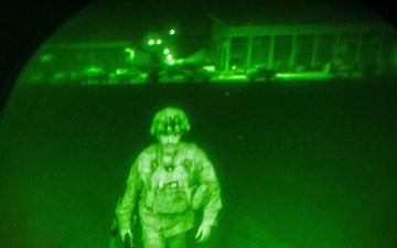 Last American Soldier leaves Afghanistan