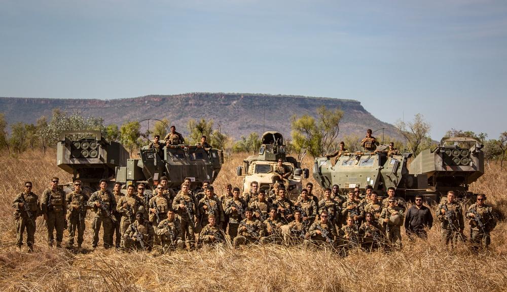 MRF-D HIMARS platoon