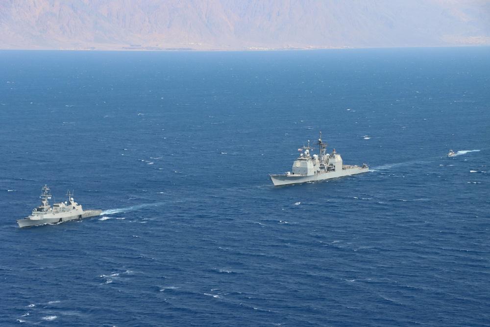 Israeli and U.S. Warships Conduct Milestone Maritime Patrol