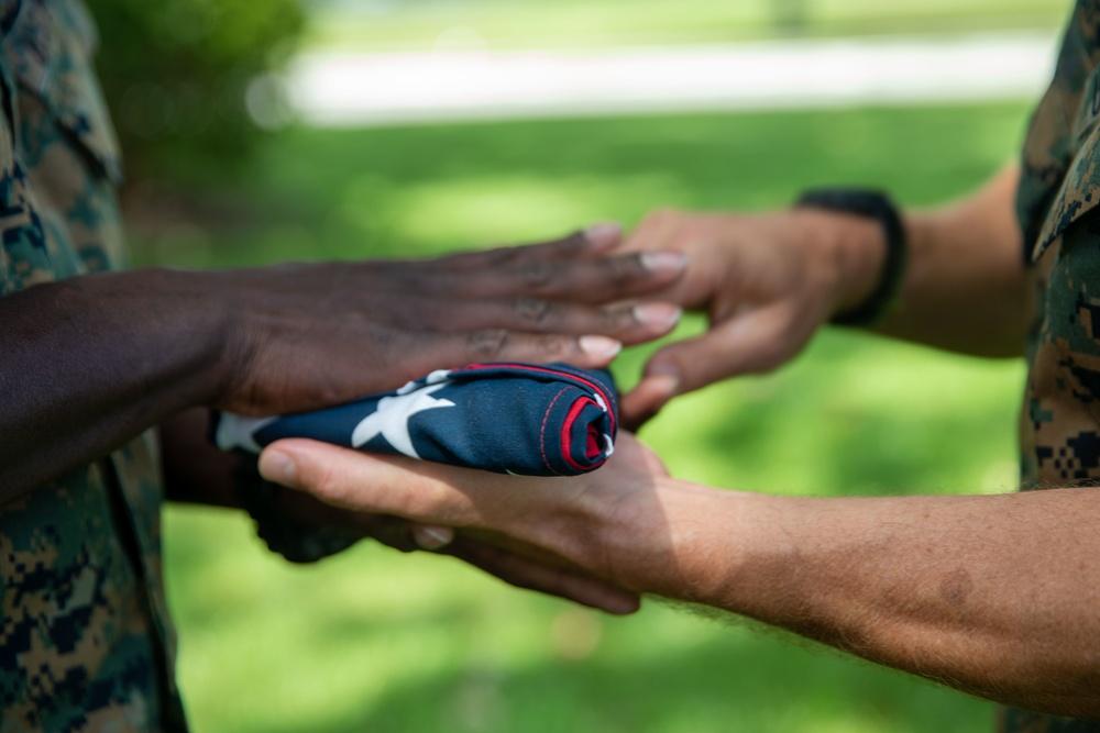 Marine from Haiti Earns Citizenship