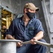 Sea And Anchor Aboard USS Charleston (LCS 18)