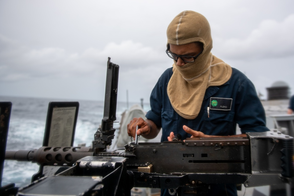 USS O'Kane (DDG 77) Conducts Weapons Training