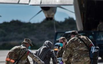 Task Force-Holloman Receives Afghan Evacuees [Image 3 of 3]