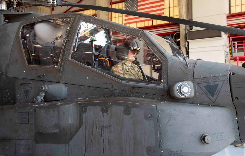 Apache sensors conducts future technology demonstration