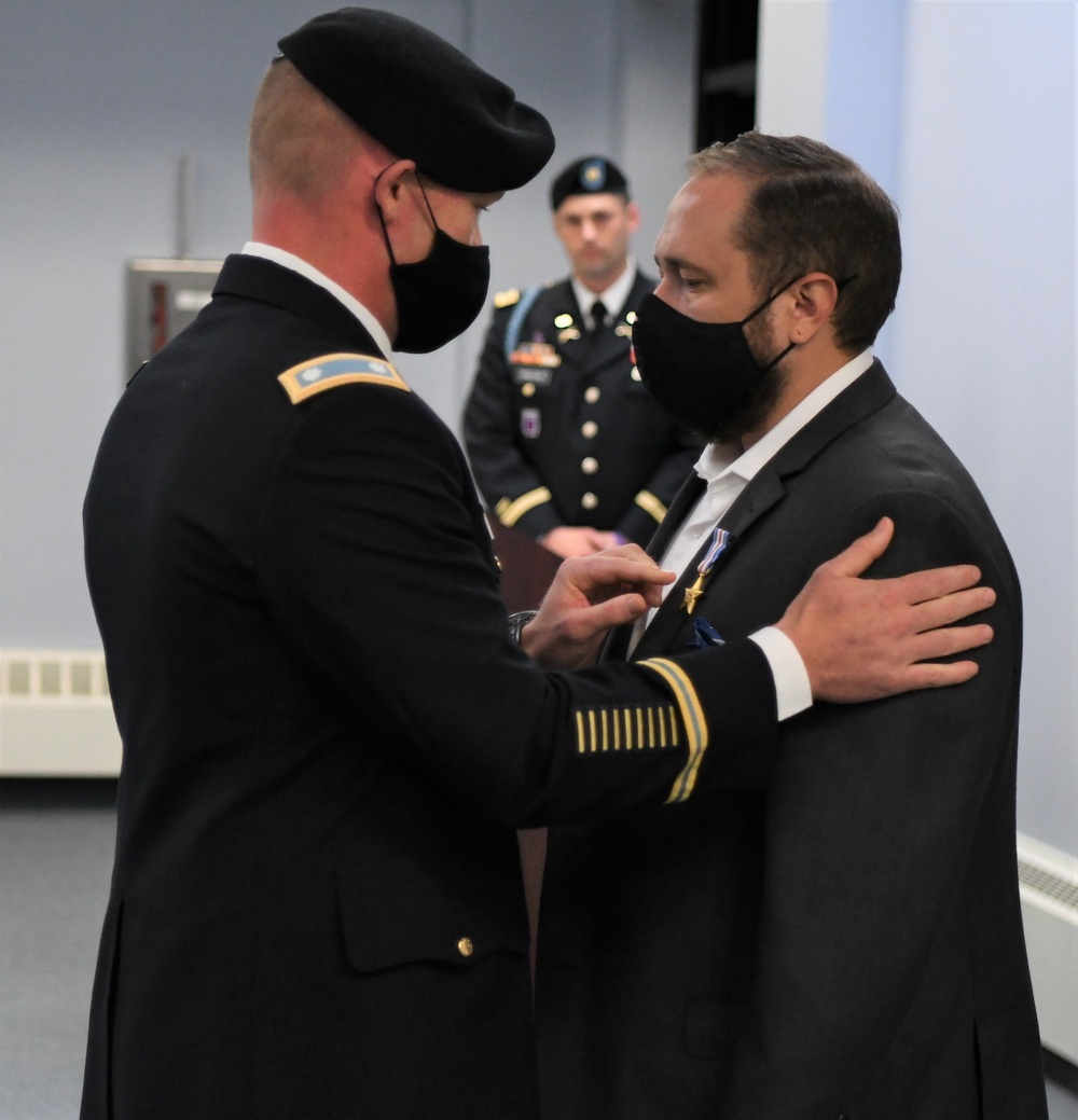 Retired 10th Mountain Division Soldier awarded Silver Star for courage, self-sacrifice under fire