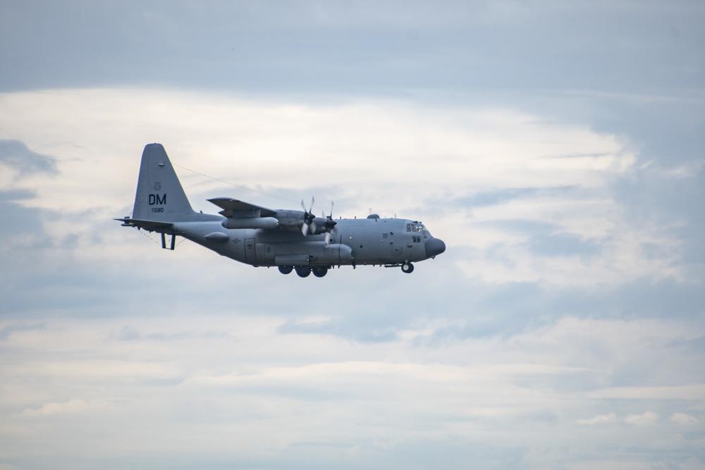 EC-130H Compass Call retires