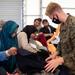 Marines Work With Afghans