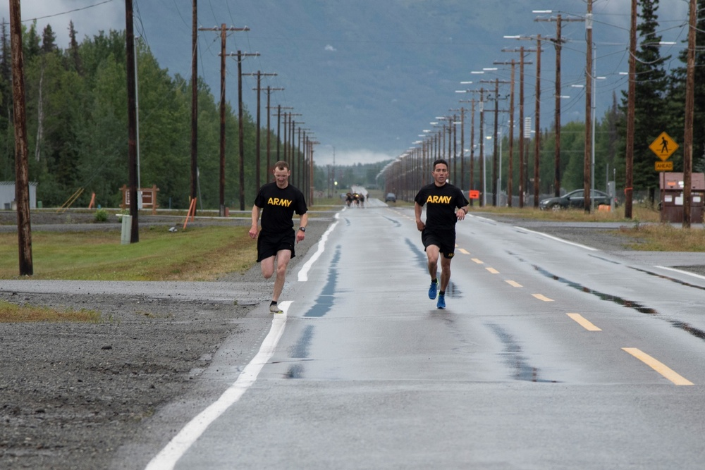 Engineers tackle Army Combat Fitness Test in Alaska