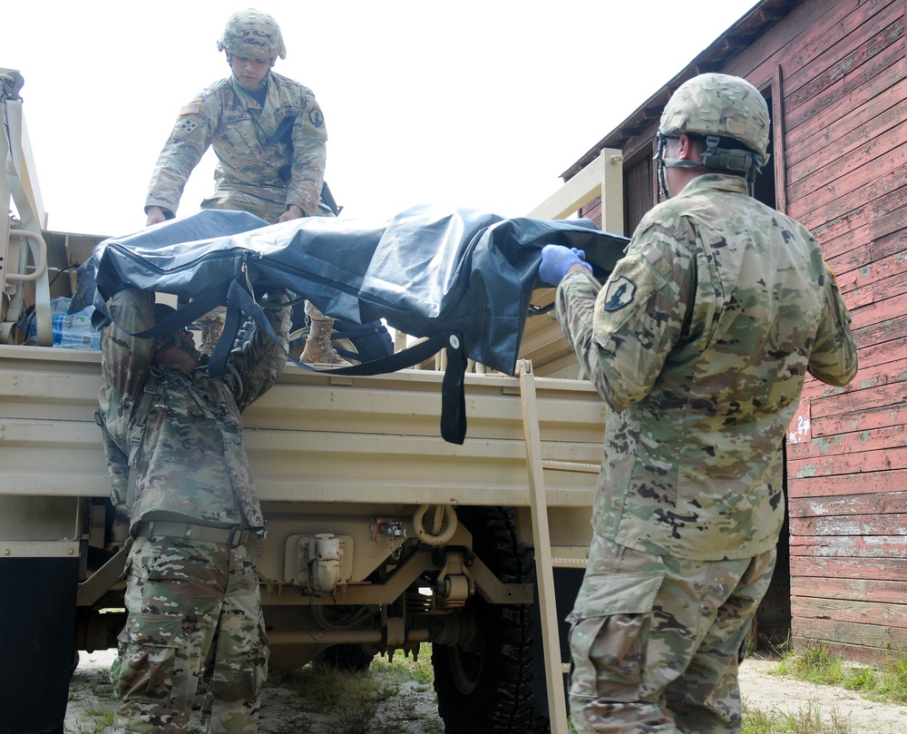 Army Reserve mortuary unit focuses on 'honor, dignity, respect'