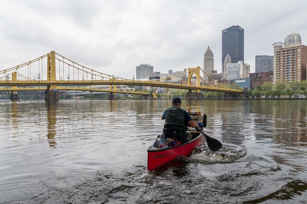 Journey across the rivers that bond America