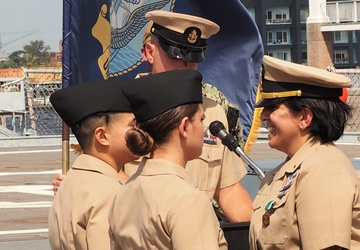 Naval Museum hosts a commissioning ceremony