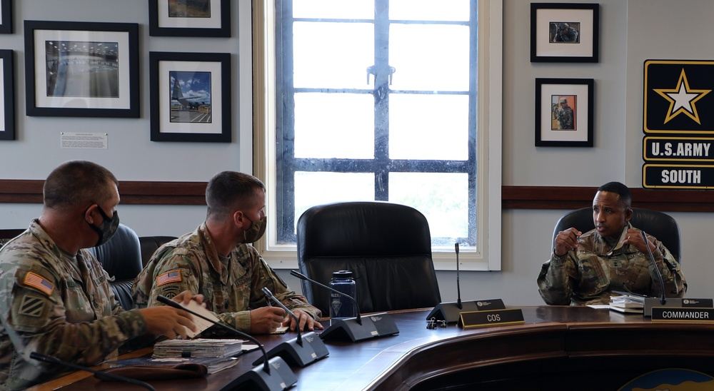 Army South hosts 2nd Operation Alamo Shield Mission Prep for rotating Security Force Assistance Teams