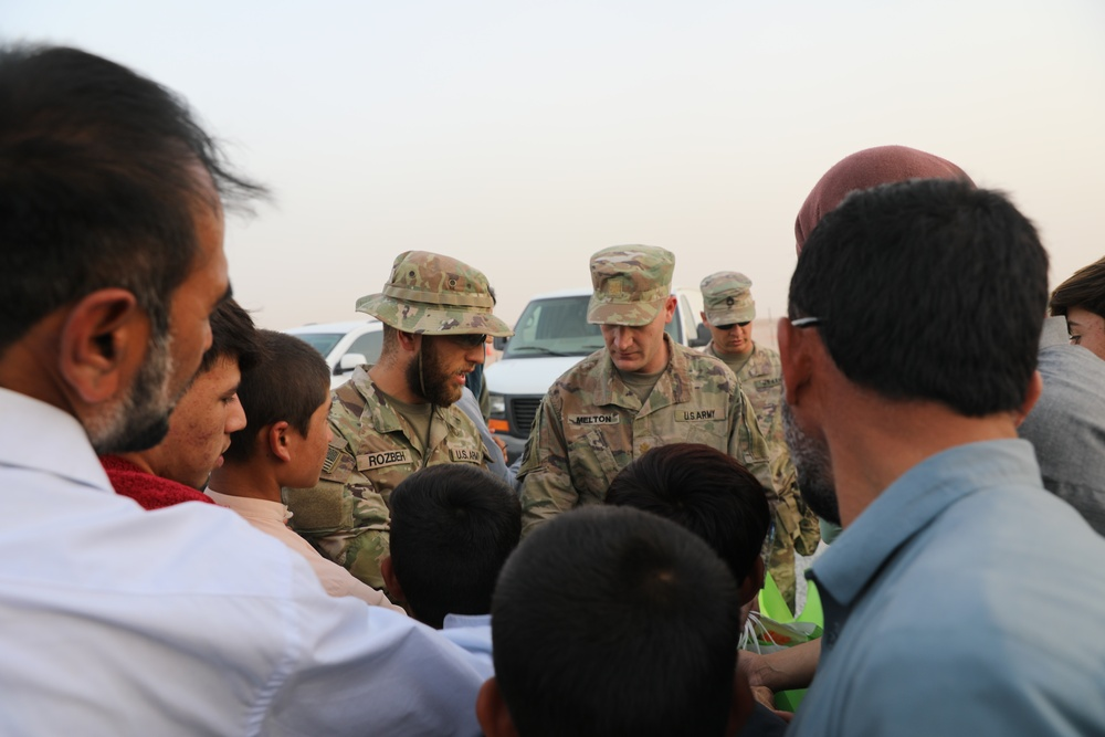 Afghan-American Soldier Supports Afghanistan Evacuation Efforts