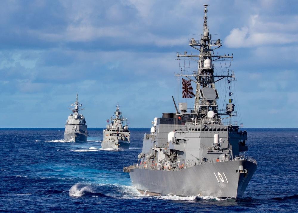 USS Barry participates in MALABAR 2021