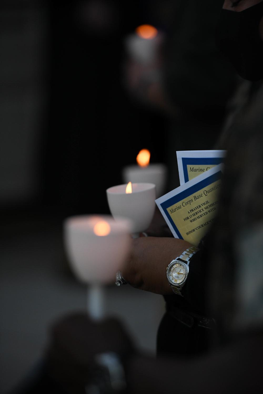 Vigil at MCB Quantico Base Chapel
