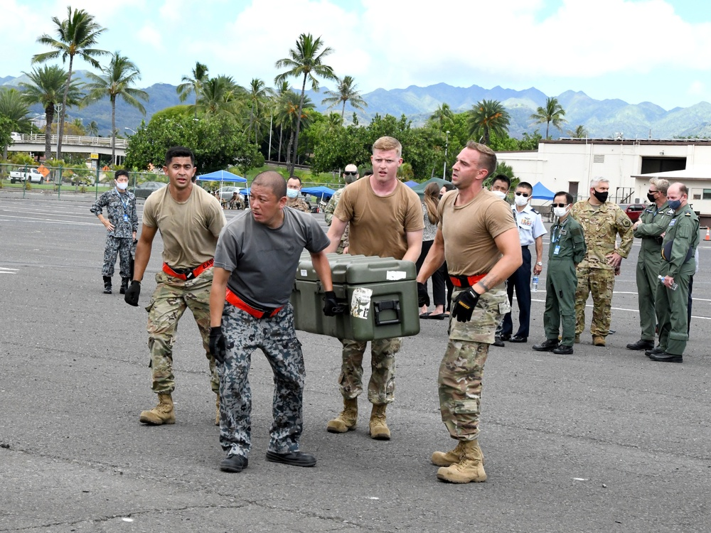 Pacific-based Airmen build international partnerships, show off skills in Port Dawg Rodeo