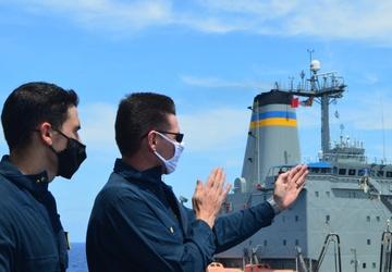 USS Lake Champlain (CG 57) Watch Standing