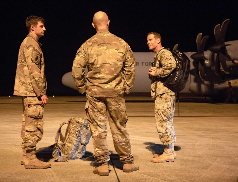 Last service members from Joint Task Force - Haiti return home.
