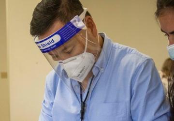 Task Force McCoy conducts Biometric Screening Process