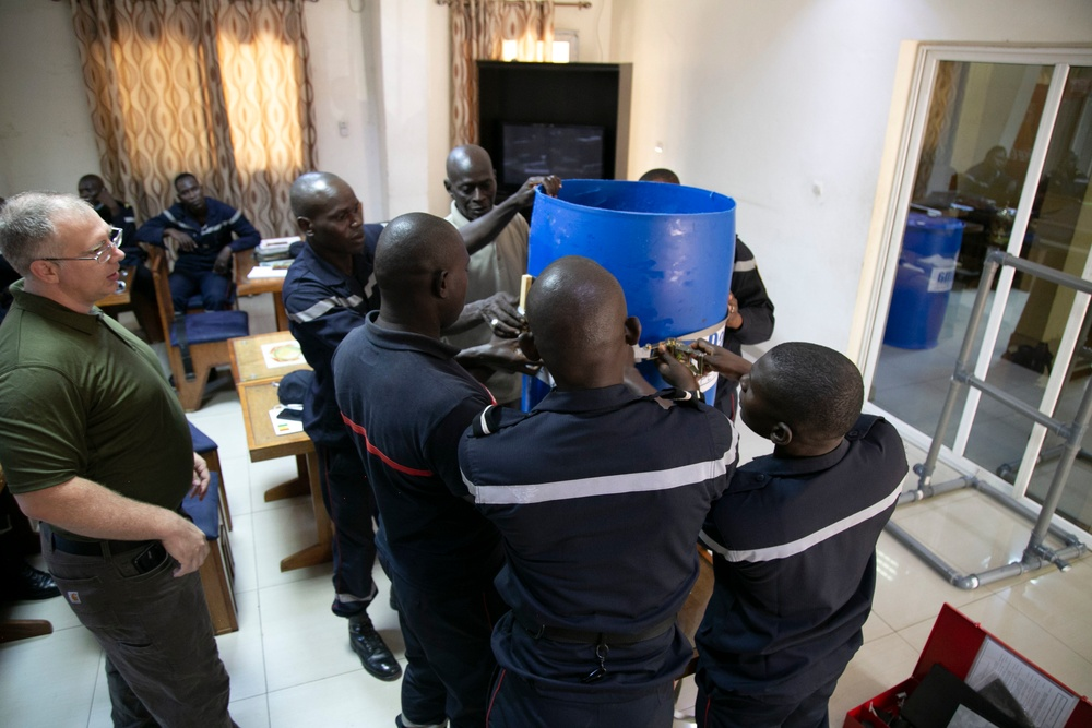 DTRA Readies Senegal for Regional CWMD Response Role