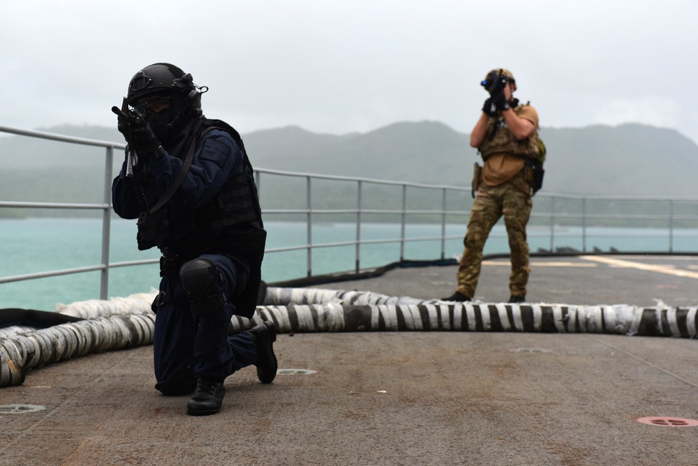 Combined VBSS Training