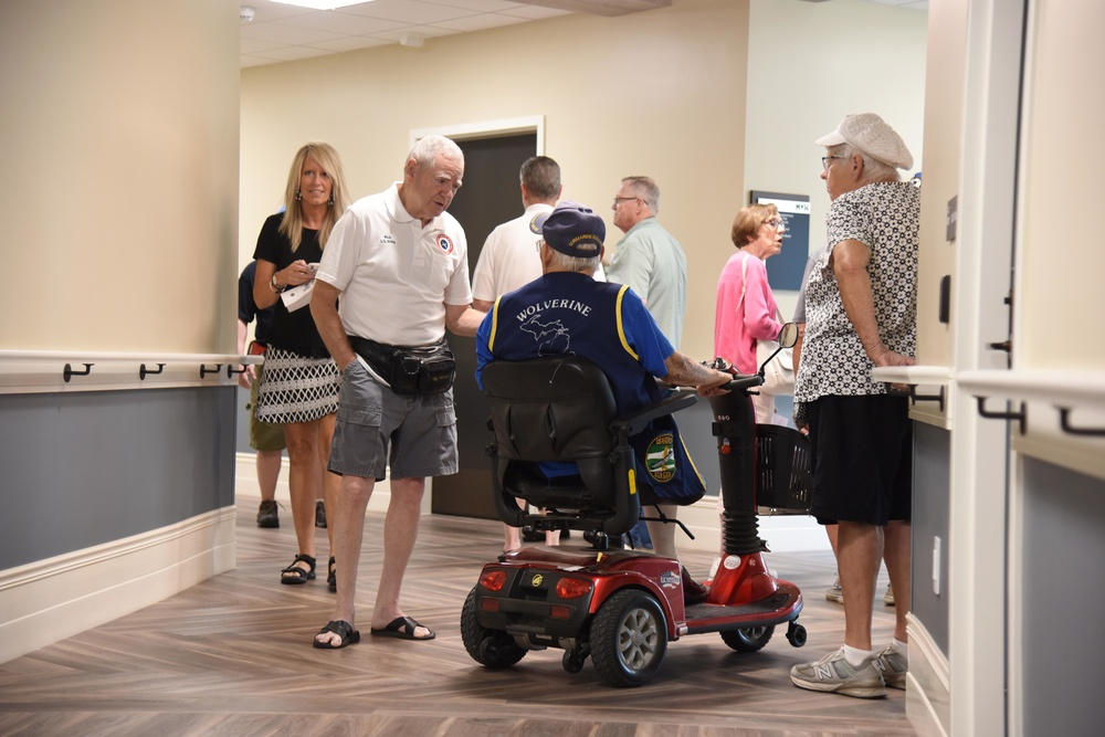 New Michigan Veteran Homes at Grand Rapids 153,000-Square-Foot Home Hosts Community at Open House