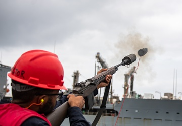 USS O'Kane (DDG 77) Conducts Replenishment-at-Sea