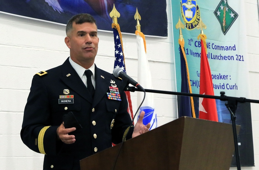 Soldiers, civilians mark 20th anniversary of 9/11 attacks at memorial luncheon