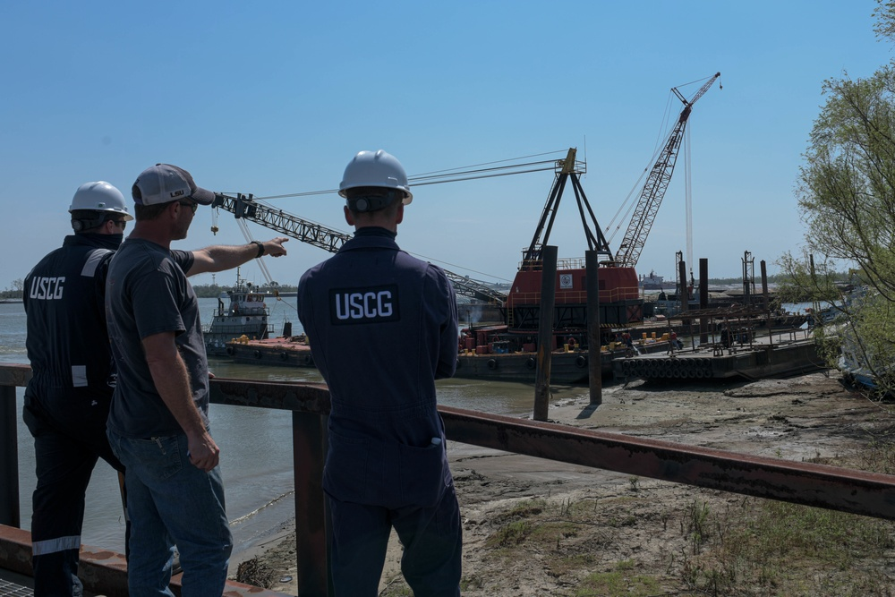 Coast Guard continues to support Hurricane Ida recovery efforts
