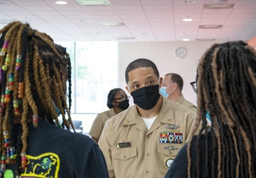 Navy Promotional Days Baltimore held at MERVO and Morgan State