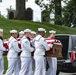 Military Funeral Honors Are Conducted For U.S. Navy Seaman 1st Class James C. Williams in Section 33