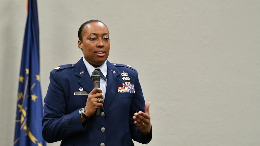 122nd Fighter Wing appoints first female African American commander