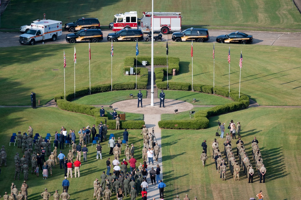 Barksdale hosts 20-year 9/11 Remembrance Ceremony