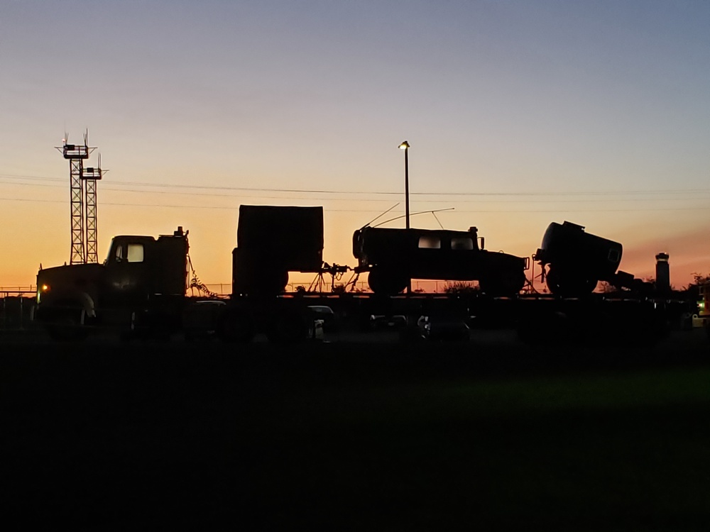 1486th Transportation Company heads south to aid in Hurricane Ida recovery efforts